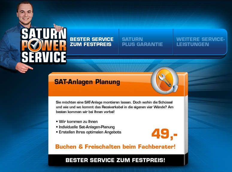 Saturn Power Service